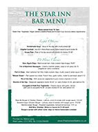 Star Inn-Bar Menu-2017-Featured NEW