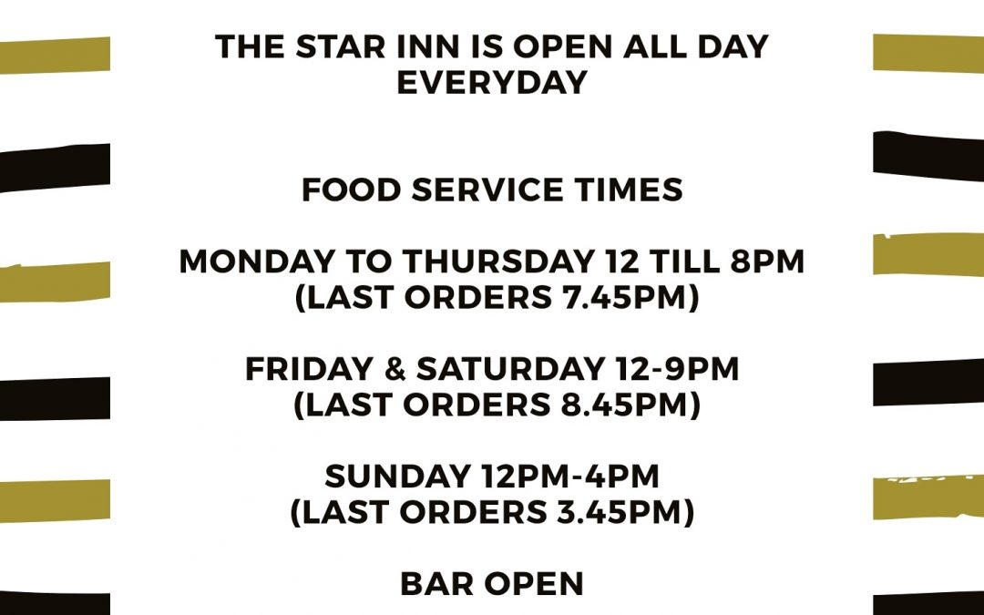 the star opening times covid